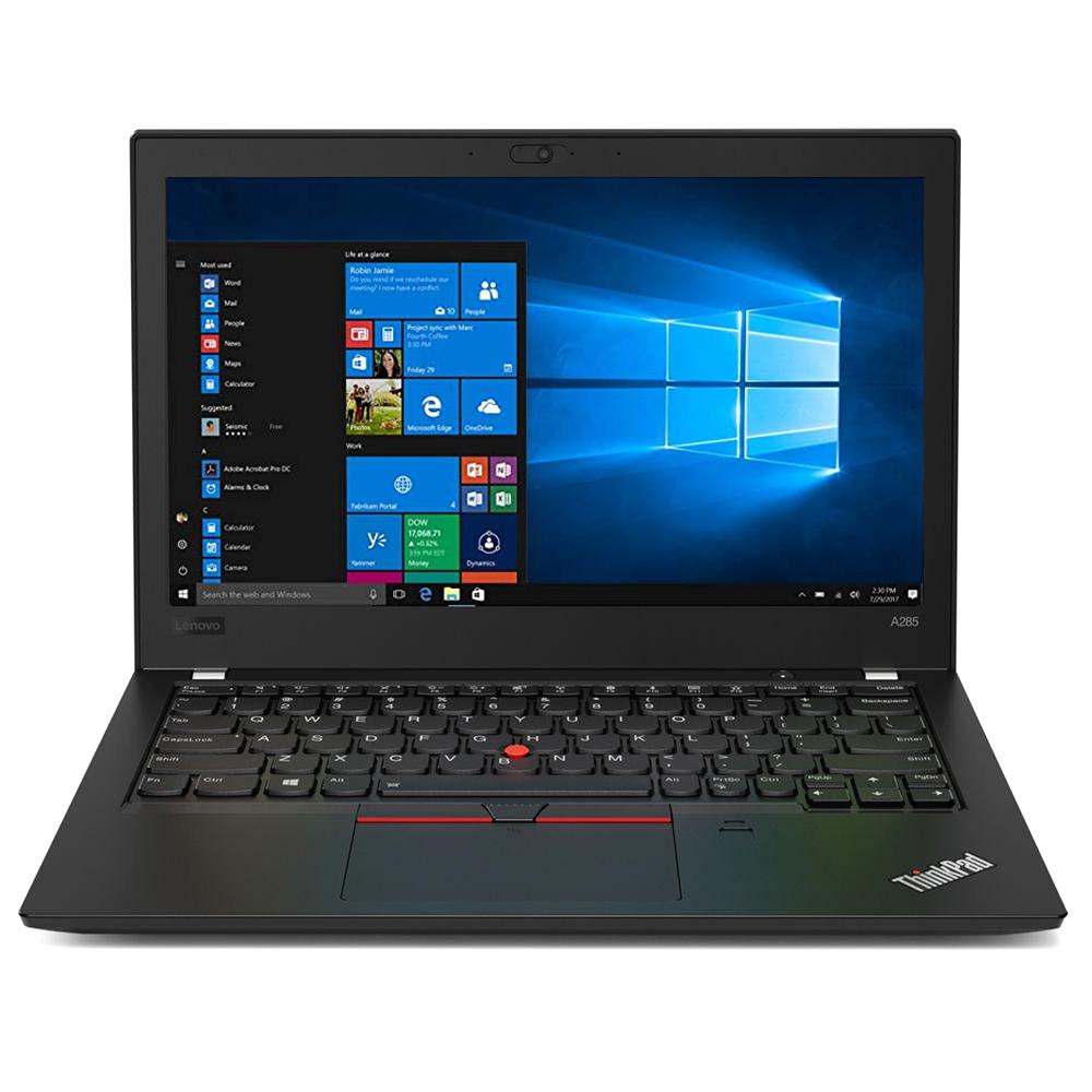 레노버 노트북 ThinkPad A285 20MWS00P00 (RYZEN7 PRO-2700U 31.75cm Radeon Vega 10), 256GB, 8GB, WIN10 Pro, 블랙