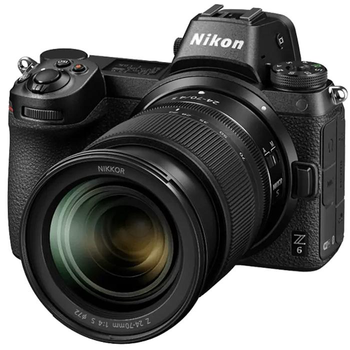 니콘 Z6 풀프레임 미러리스 카메라 24-70 LENS 키트
