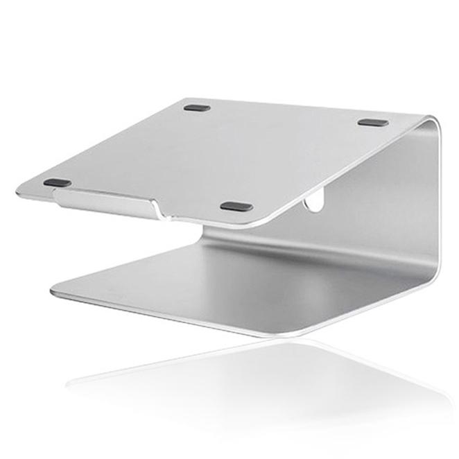 소이믹스 알루미늄 노트북 맥북 거치대 360 SOME2, 실버