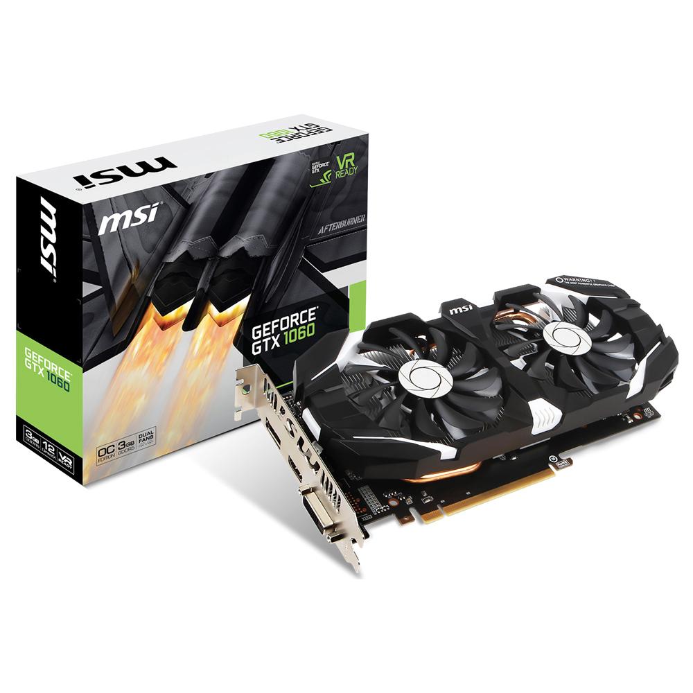 MSI 지포스 GTX1060 OC D5 6GB 윈드스톰 그래픽카드 N1060T6