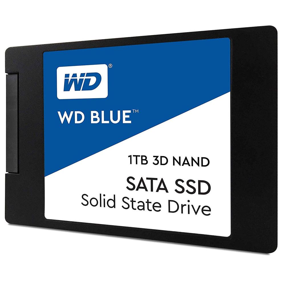 WD BLUE 3D NAND SATA SSD, WDS100T2B0A, 1TB