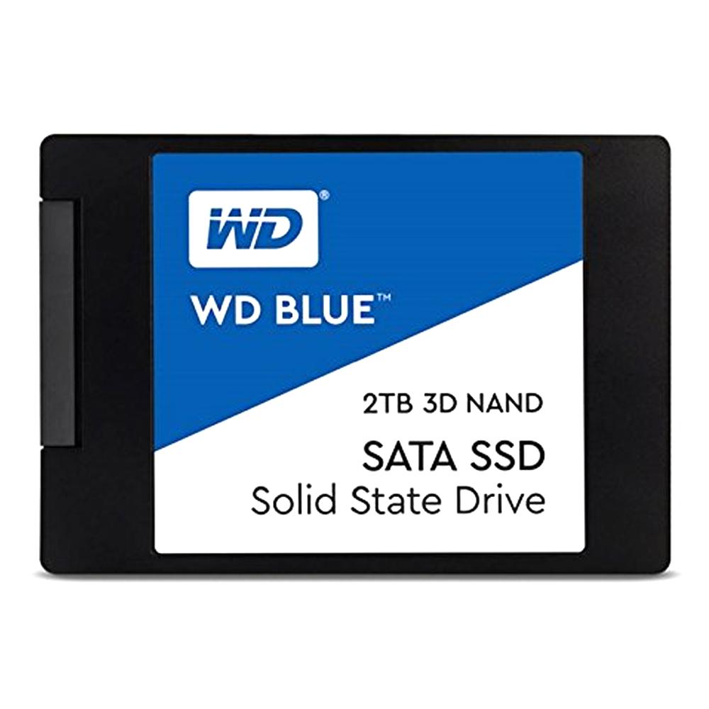 WD BLUE 3D NAND SATA SSD, WDS200T2B0A, 2TB