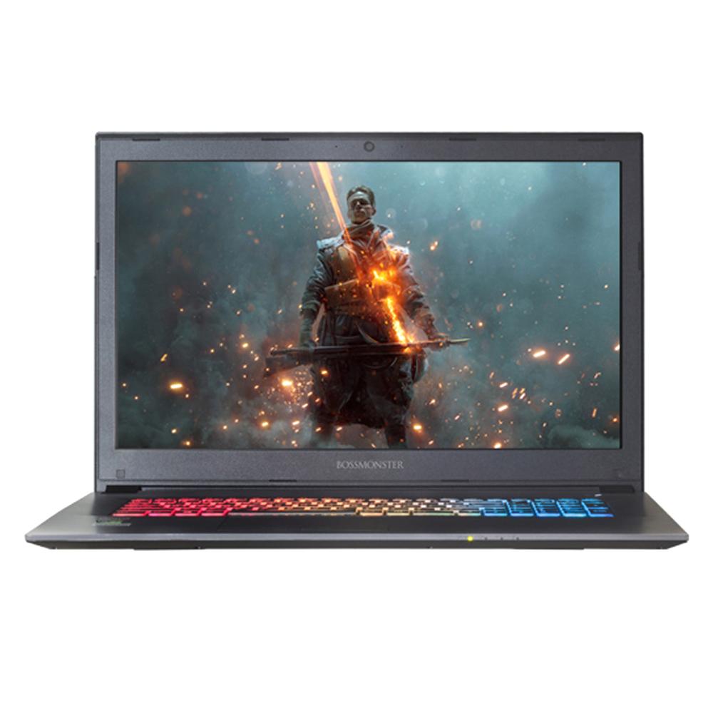 한성컴퓨터 BossMonster Lv78 144 노트북 X78K (i7-8750H 43.94 cm Win미포함 8G SSD 240G GTX1050Ti), 혼합 색상