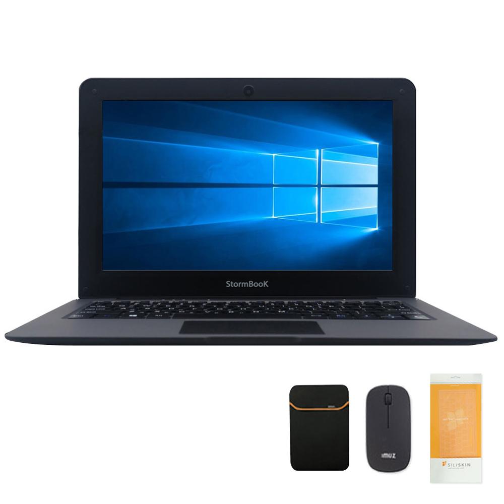 아이뮤즈 스톰북 11 Pro (아톰 체리트레일 Z8350 26.92cm eMMC32G), 4GB, WIN10 Home, 메탈릭 그레이(풀패키지)