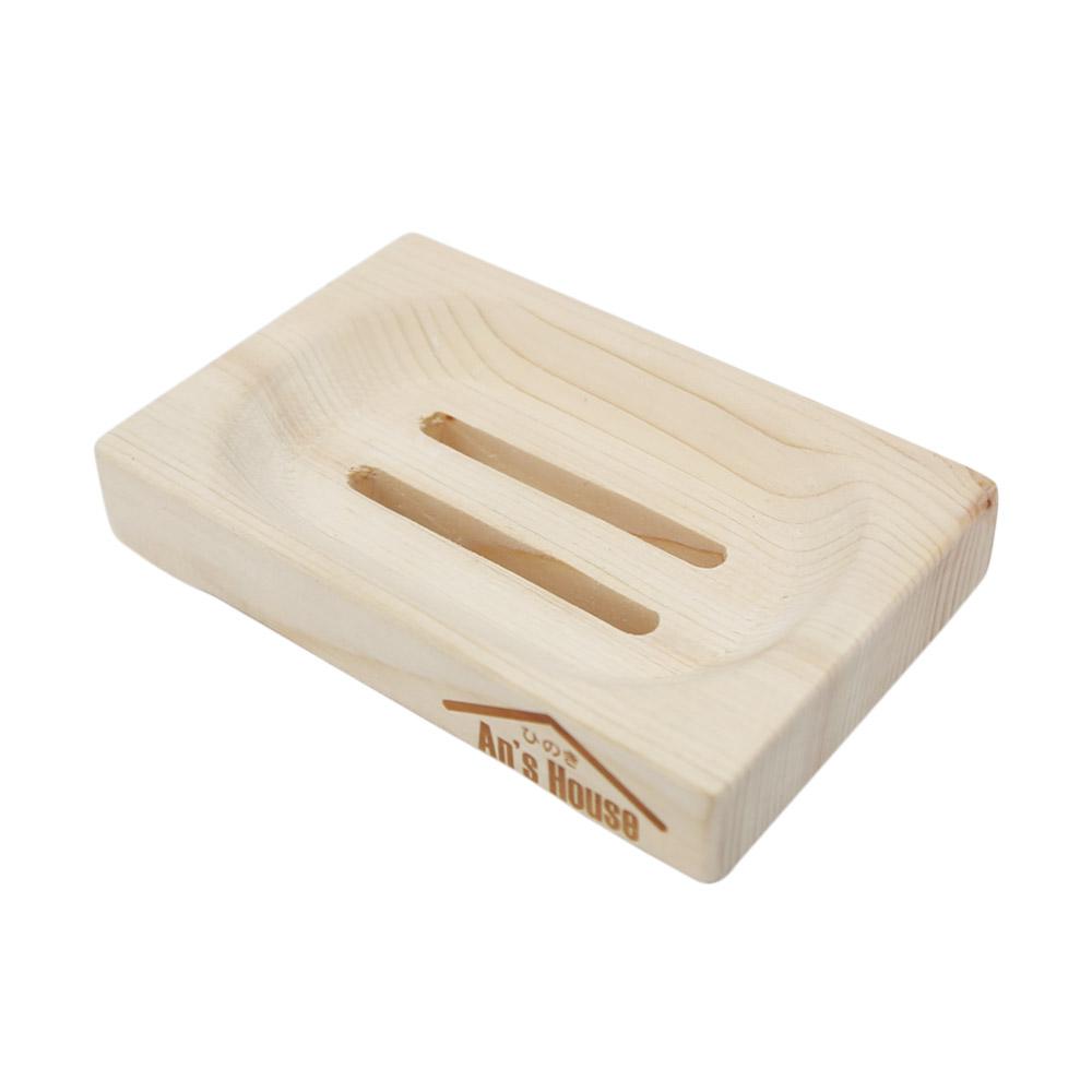 코시나 히노끼 비누받침대, 단일색상, 1개