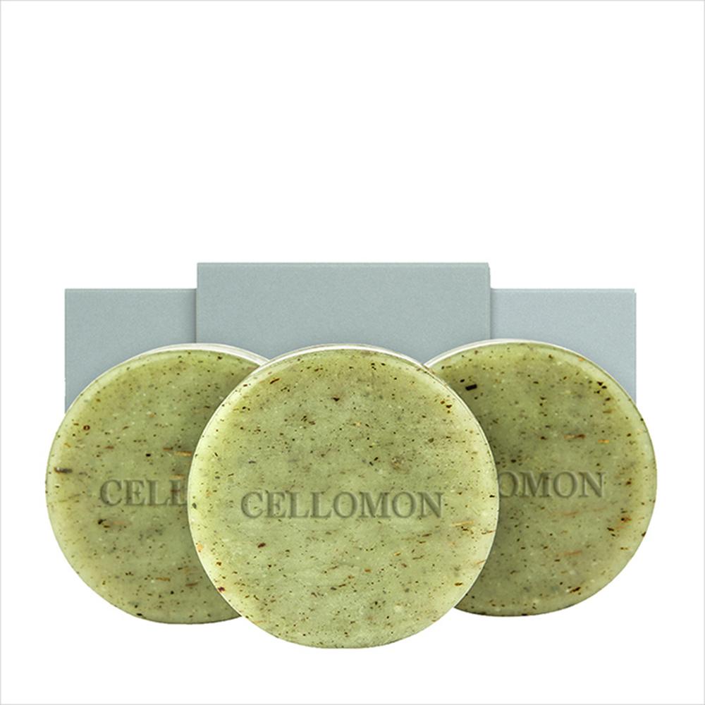셀로몬 어성초 비누 세트, 비누 3p + 거품망, 1세트