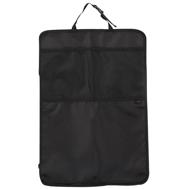 에어보스 카시트 킥 수납매트, 블랙, 1개