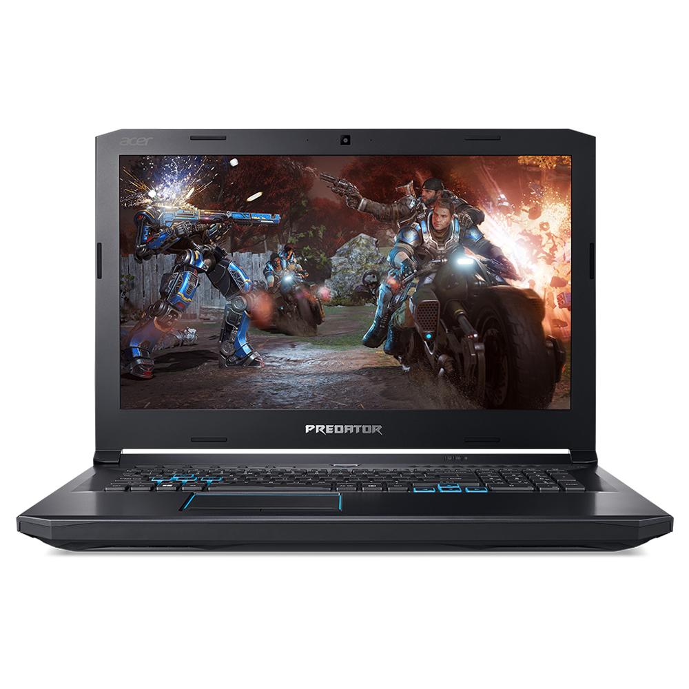 에이서 프레데터 헬리오스500 게이밍 노트북 PH517-51-7424 (i7-8750H 43.9cm WIN10 16GB SSD 256GB + 1TB HDD), 블랙