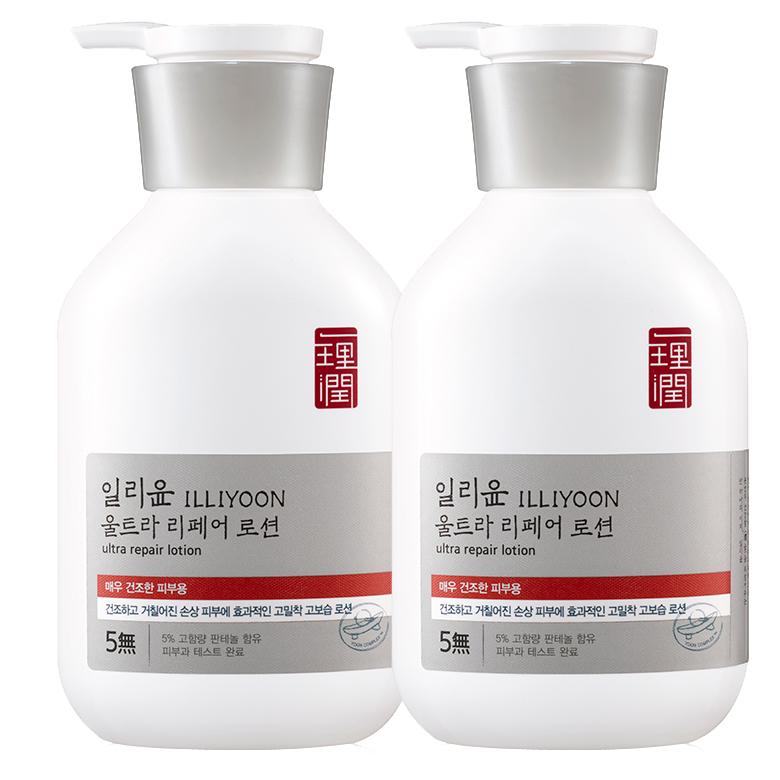 일리윤 울트라 리페어 로션, 350ml, 2개