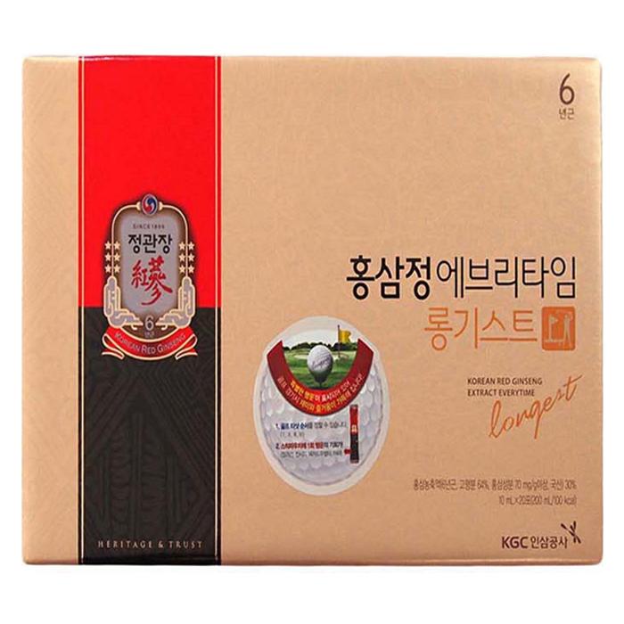 정관장 홍삼정 에브리타임 롱기스트, 200ml, 1세트