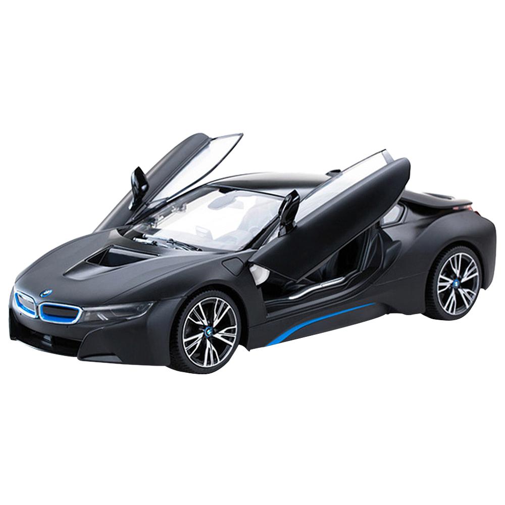 라스타 1:14 BMW I8 도어오픈 RC카, 블랙