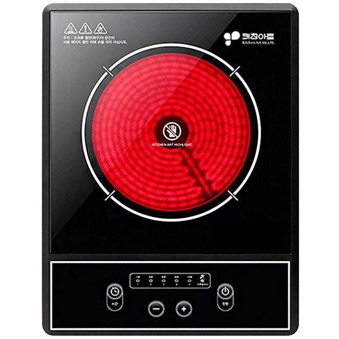 키친아트 럭시 하이라이트 전기 레인지 1구, PK-801