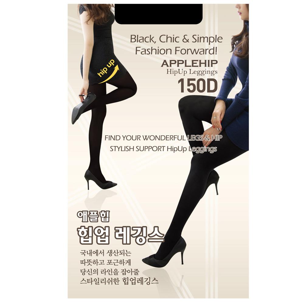 애플힙 힙업유발 팬티스타킹 150D