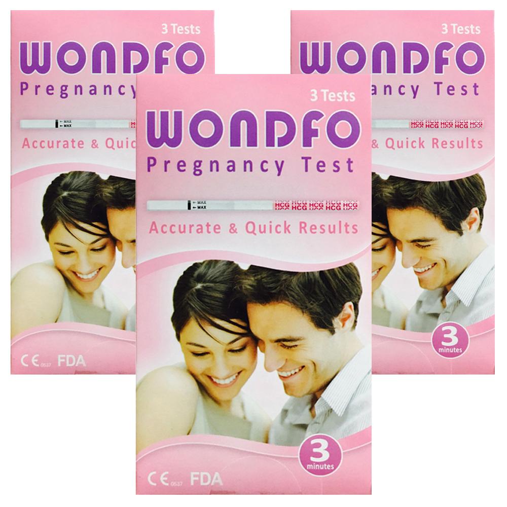 원포 임신테스트기 25mlU W1-S, 3개입, 3개