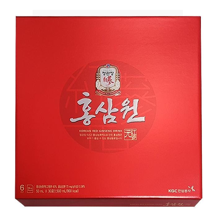 정관장 홍삼원 + 쇼핑백, 30포, 1세트