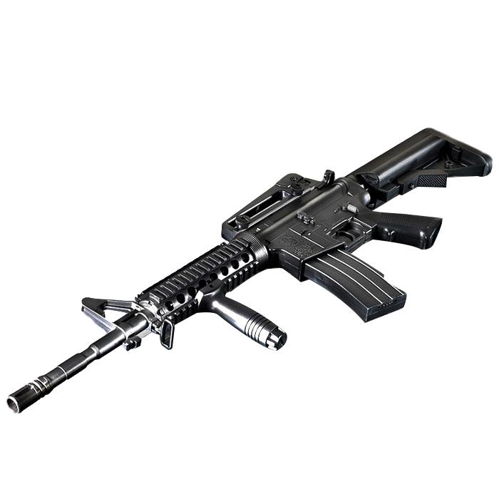 아카데미과학 M4A1 R.I.S 전동건 17407, 1개