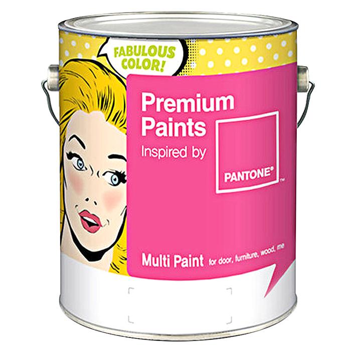 노루페인트 팬톤 멀티 페인트 1L, 화이트 White