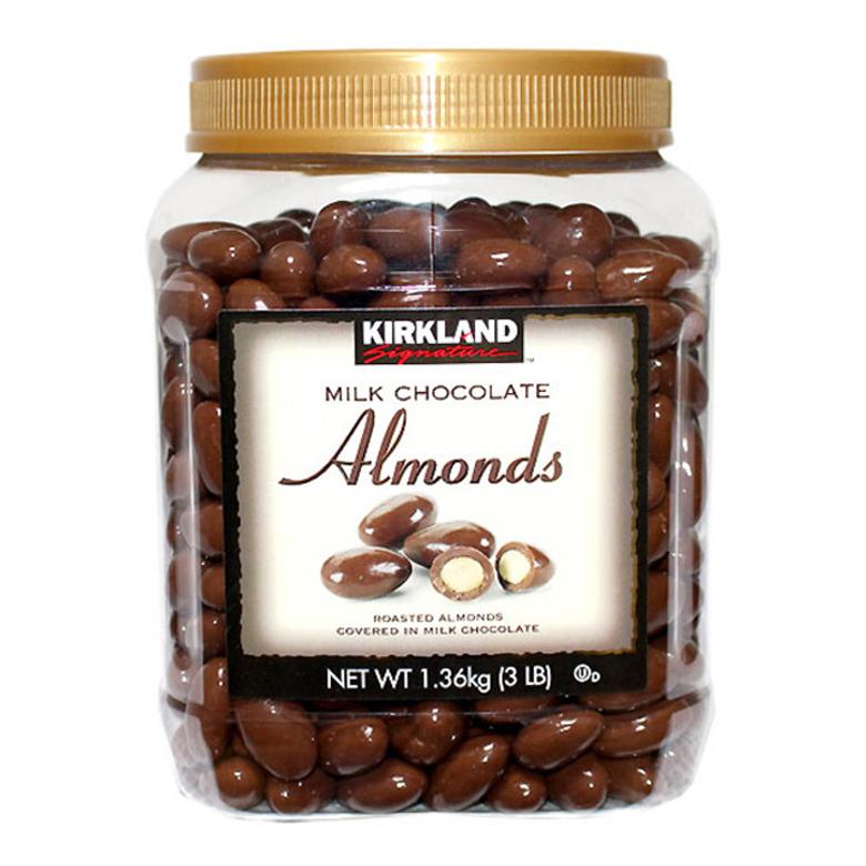 커클랜드 시그니춰 밀크초콜릿 아몬드 1.36kg 코스트코, 1개
