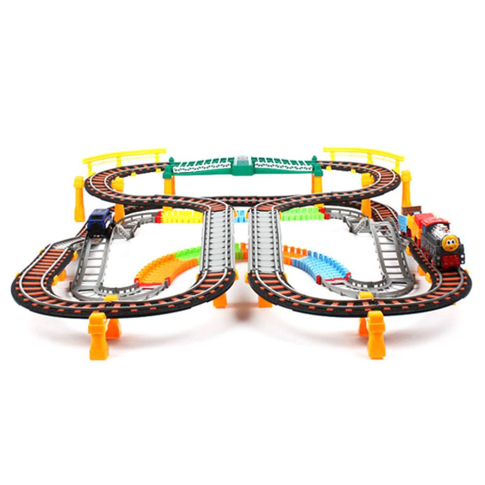 이티에스 초대형 레일카 놀이 6601, 혼합 색상