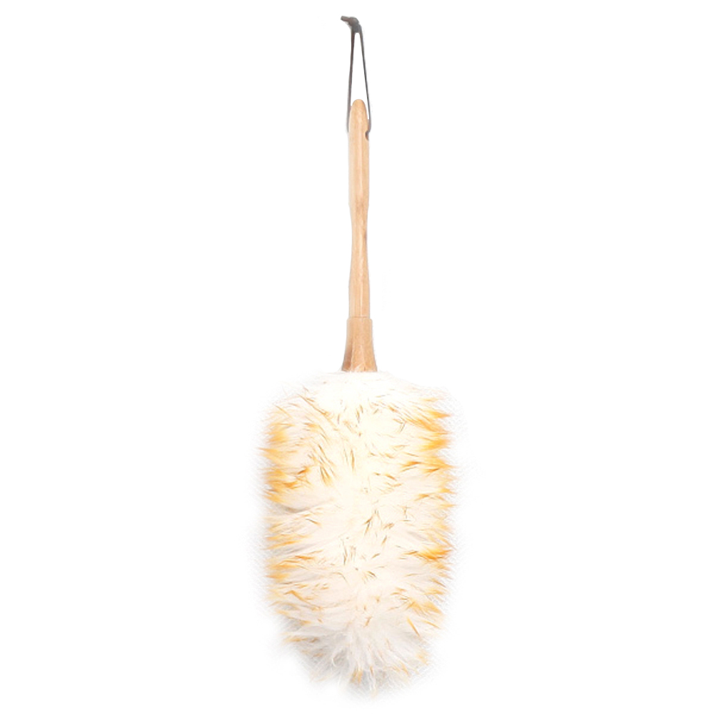 [차량용 먼지털이] 네이쳐 양모 먼지털이개, 혼합 색상, 1개 - 랭킹4위 (6500원)