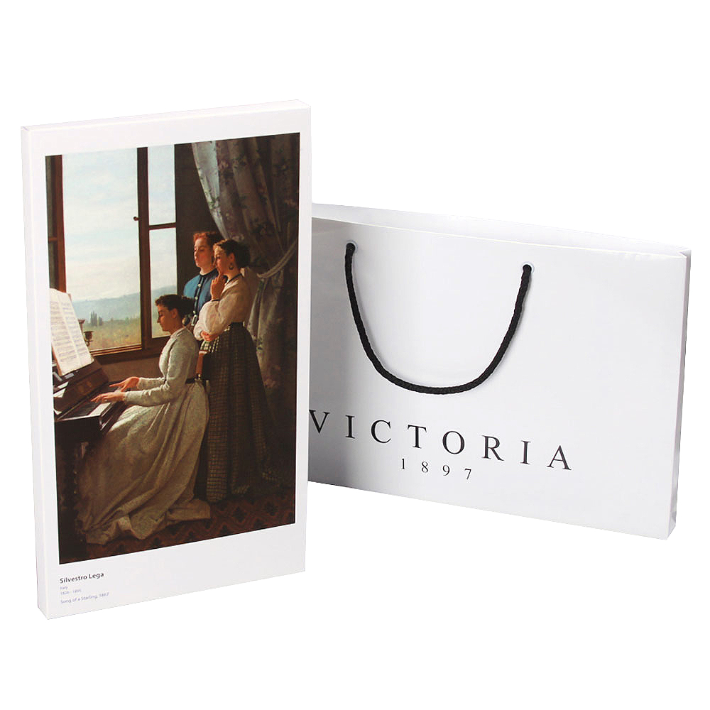 빅토리아 차 선물세트 2호 + 쇼핑백, 얼그레이 5p + 페퍼민트 5p + 로즈플라워 5p, 1세트