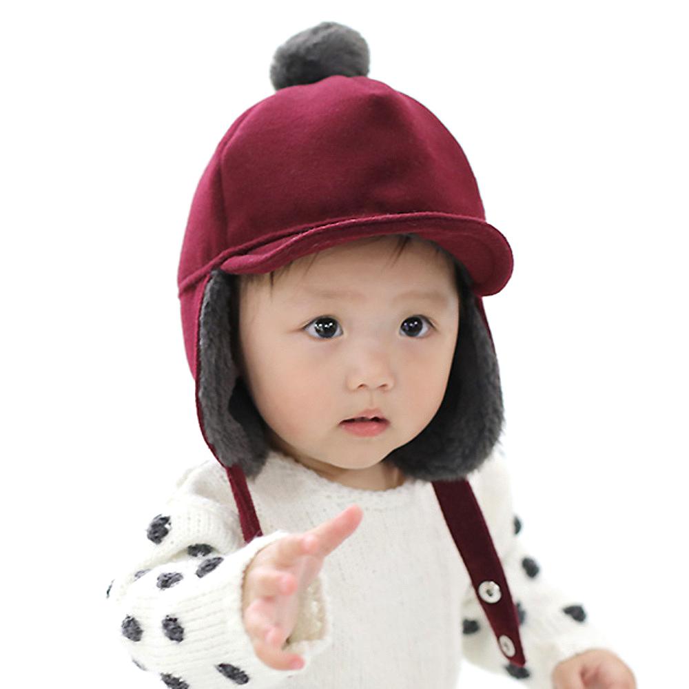무슈 유아동용 알도르 방한모