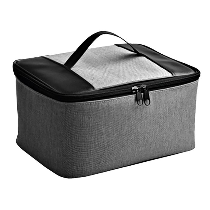 조이트론 닌텐도 스위치용 올인원 수납 케이스 가방 그레이, JTSW-113, 1개