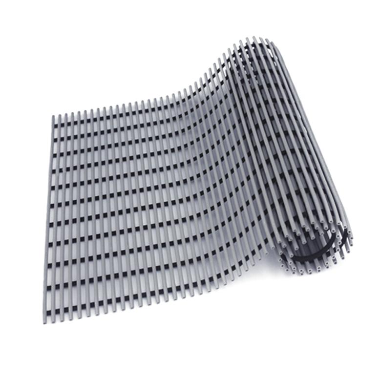 월광 월광매트 일반형 미끄럼 방지 매트 120 x 150 cm, 회색, 1개