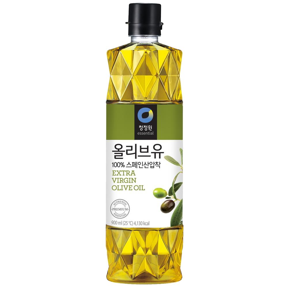 청정원 엑스트라버진 올리브유, 900ml, 1개