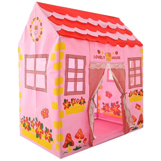 맘스아이 러블리 하우스 놀이텐트, 혼합 색상