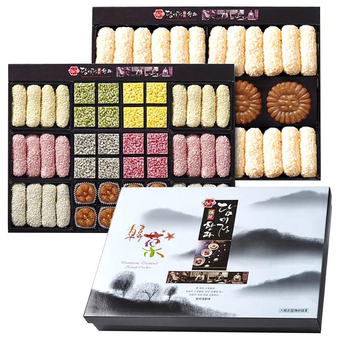 담미정 전통한과 선물세트 + 보자기, 791g, 1세트