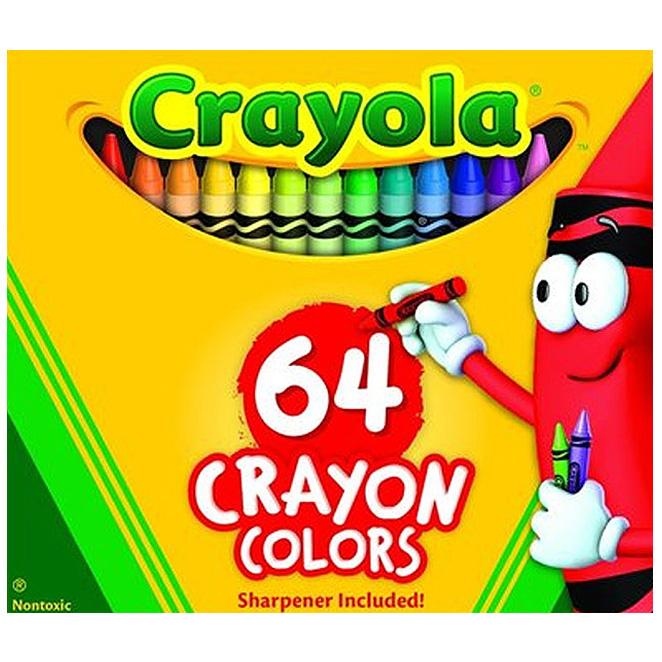 크레욜라 크레용, 64색, 1개