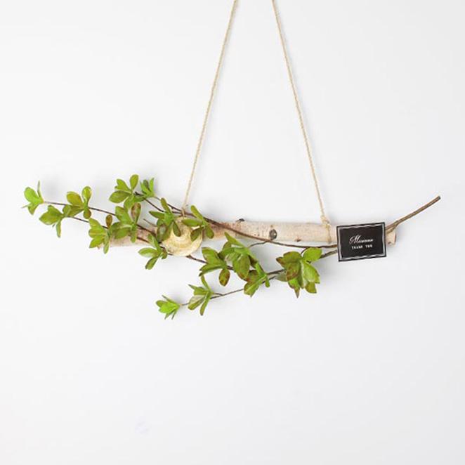 모리앤 에버그린 자작나무 가랜드, 혼합색상