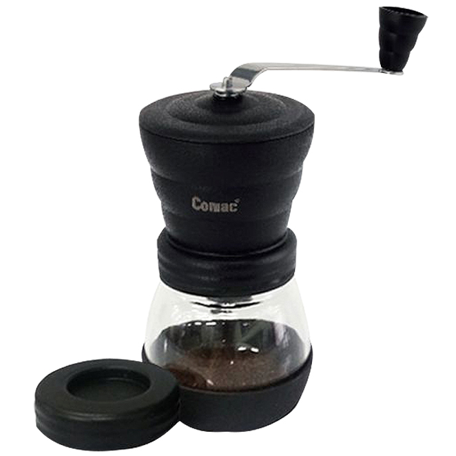 [코맥] Comac 세라믹날 커피밀 유리(원통)-MG1 [핸드밀/커피그라인더/커피분쇄기/핸, 상세 설명 참조, 상세 설명 참조