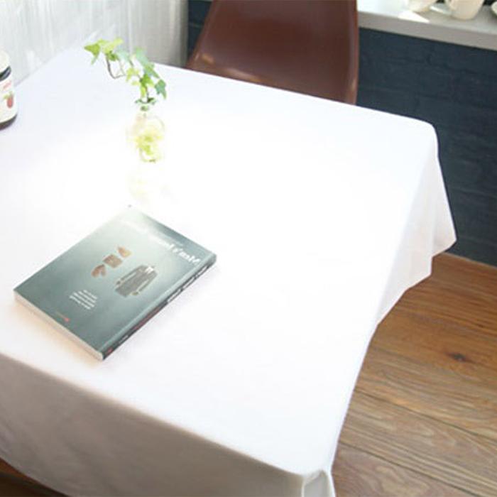 까사베르데 더순수 식탁보, 화이트, 4인 (130 x 150 cm)