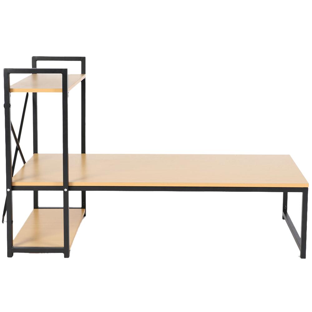 라꾸라꾸 좌식 다용도 테이블 CBK-500, 블랙 + 브라운