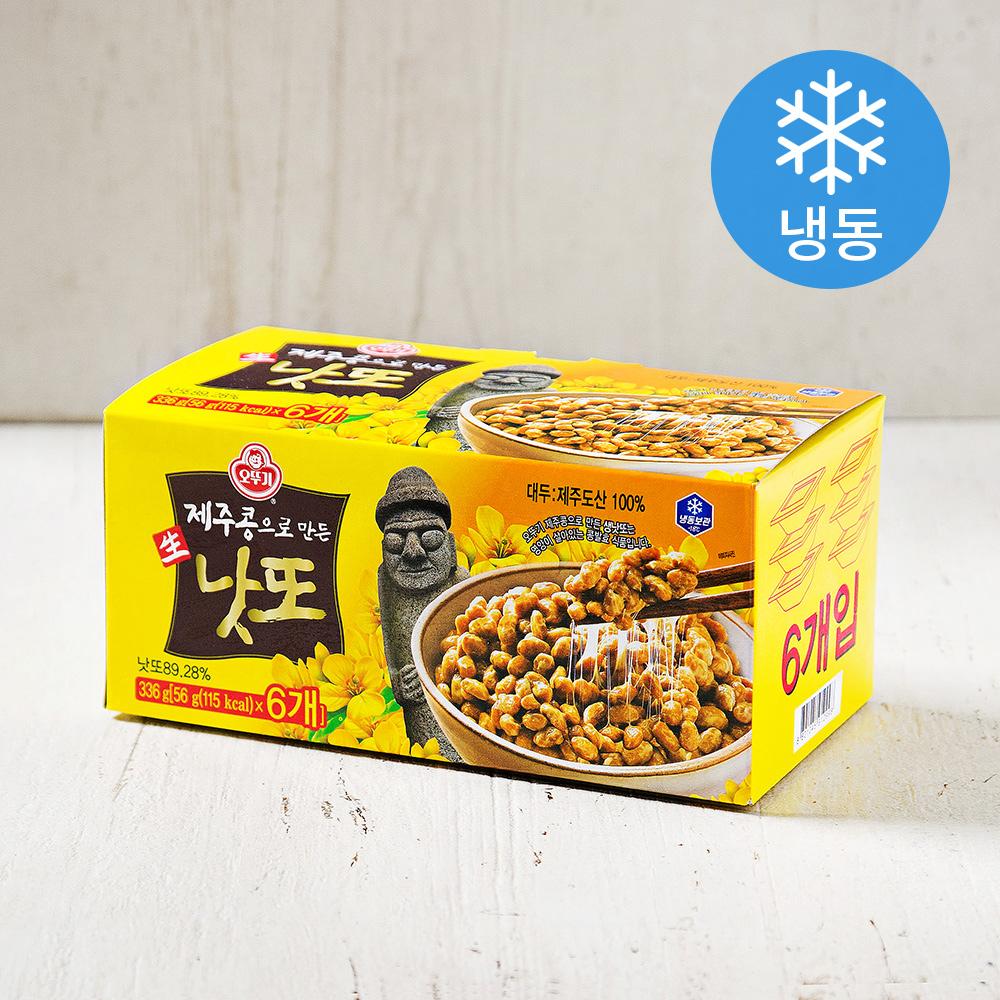 오뚜기 제주콩으로 만든 생낫또 (냉동), 336g, 1개