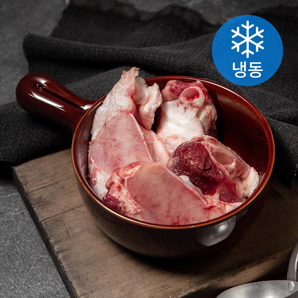 횡성한우 도가니 (냉동), 350g, 1개