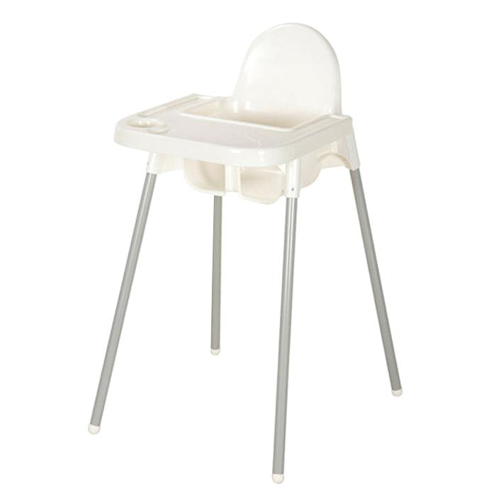 마켓비 SIGTAG 유아식탁의자 + SIGTAG 유아트레이 세트, 화이트