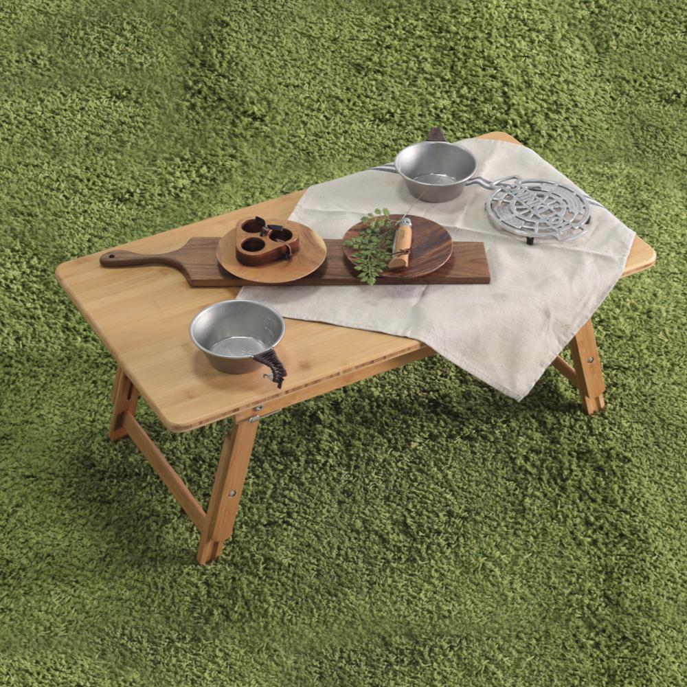 소프시스 밤부 좌식 테이블 L, 대나무원목
