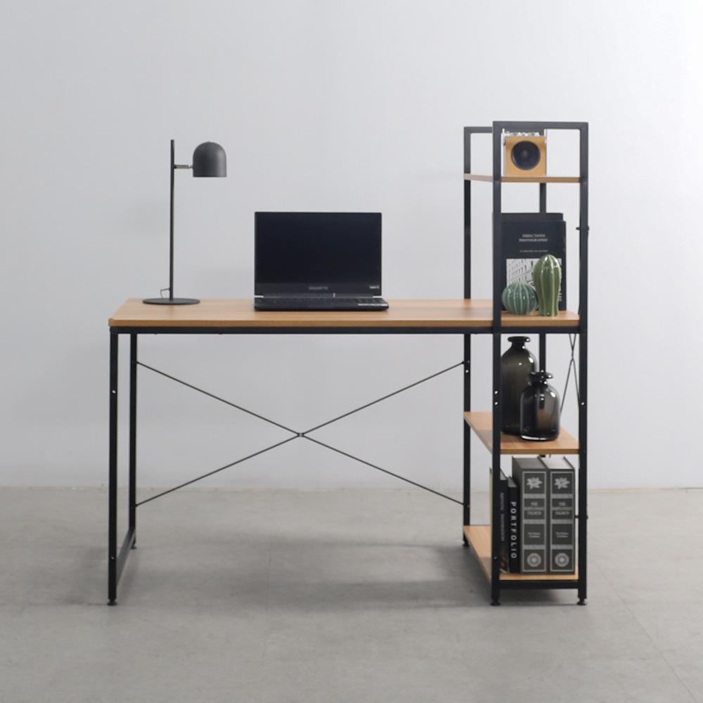 소프시스 위더스 컴퓨터 책상 1260, 블랙 프레임