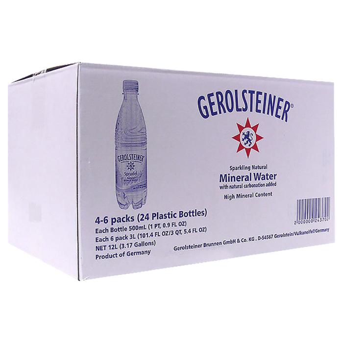 게롤슈타이너 탄산수 플레인, 500ml, 24개