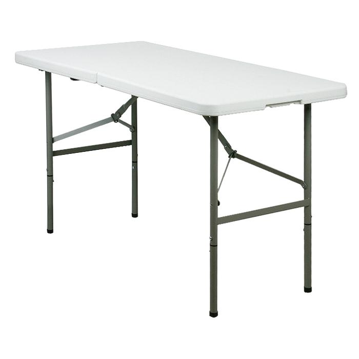 상도가구 브로몰딩 접이식 테이블 1200, 화이트