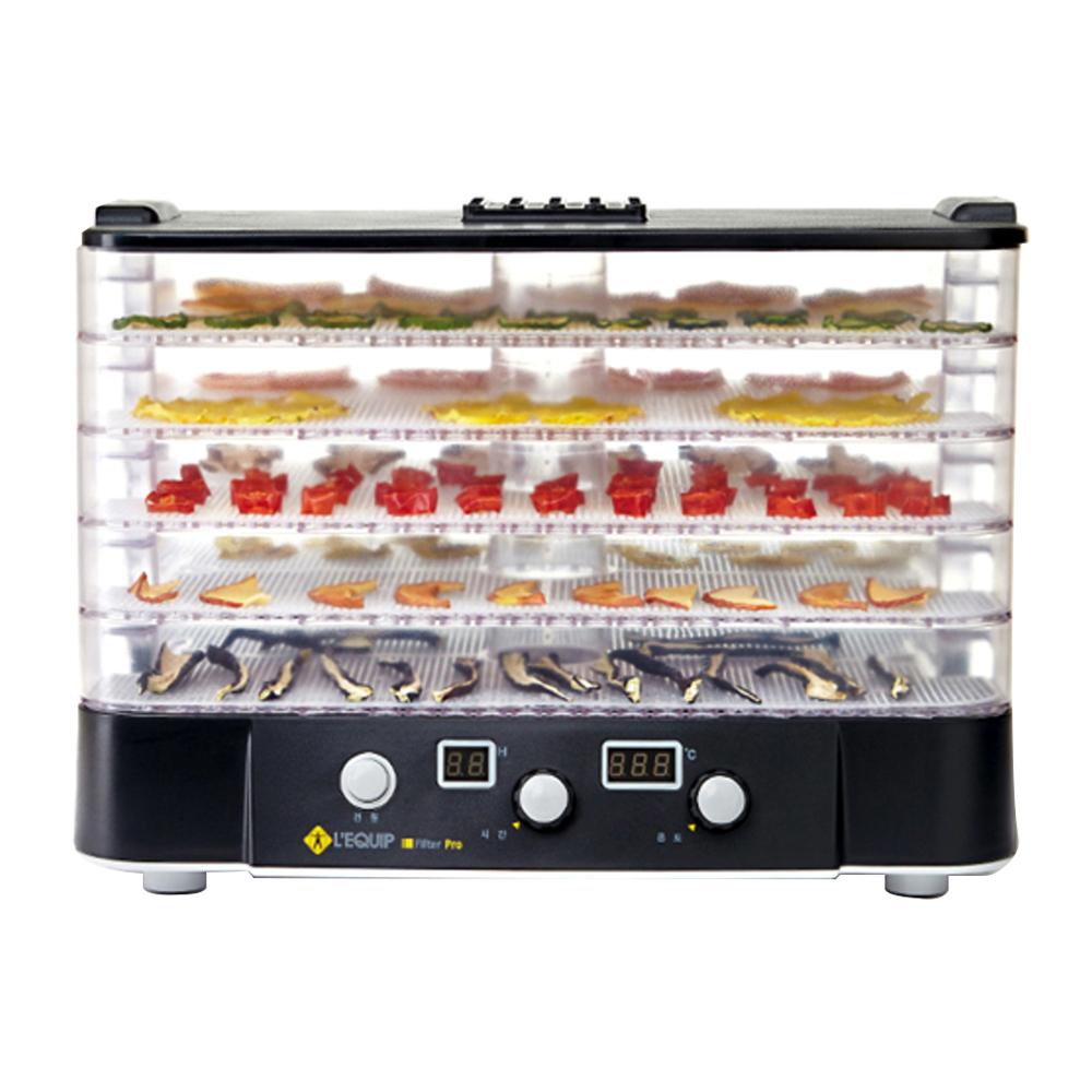 리큅 투명 하이 트레이 5단 식품건조기, LD-918T5