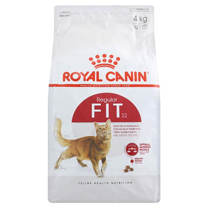 로얄캐닌 피트 어덜트 고양이 사료, 4kg, 1개