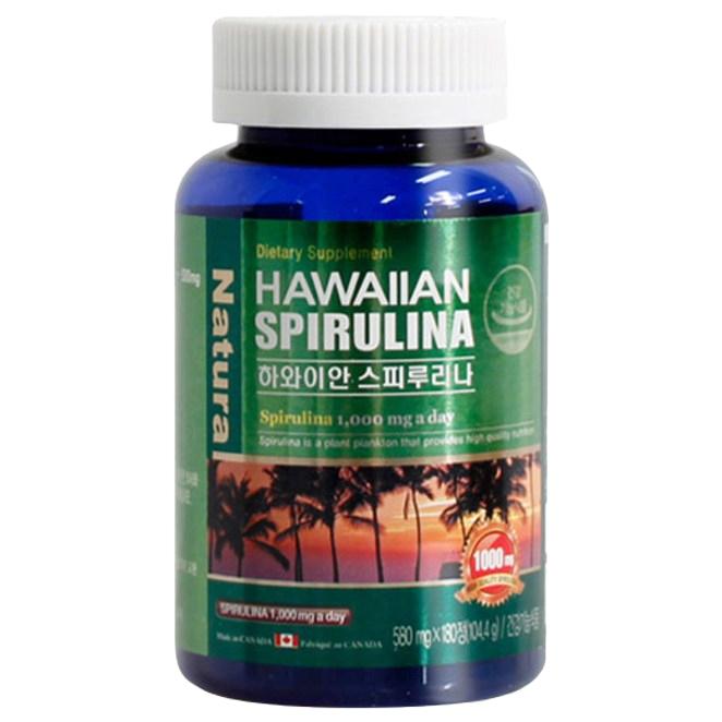 헬스가든 하와이안 스피루리나 영양제, 180정, 1개