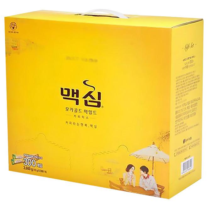 맥심 모카골드 마일드 커피믹스 선물세트, 12g x 300개입, 1세트
