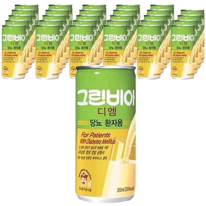 그린비아 디엠 당뇨환자용 영양식, 200ml, 30개