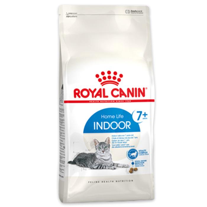 로얄캐닌 인도어 7세 이상 고양이 사료, 곡물, 3.5kg