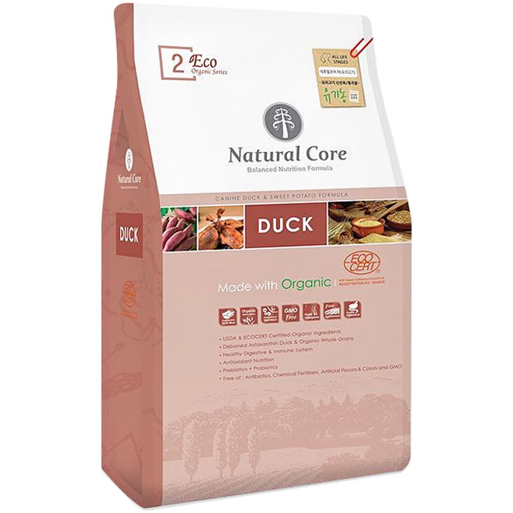 네츄럴코어 전연령 오리고기 에코2 유기농 애견사료, 오리, 2.4kg